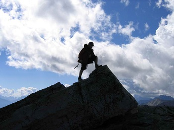 Climbed the Mountain