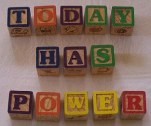 Today Has Power with Building Blocks